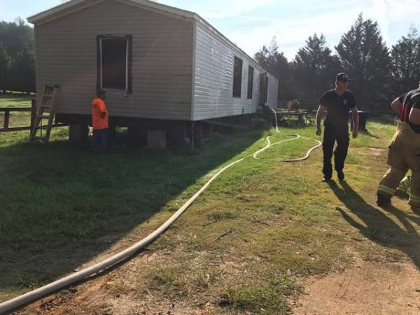 Early Morning Structure Fire in Hodgesville