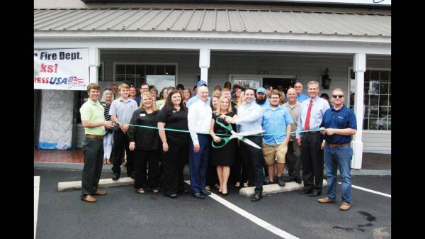 Ribbon Cutting at Mattress USA Gallery on Montgomery Hwy