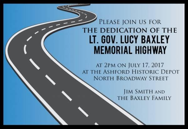 Highway Dedication Set for July 17th in Ashford