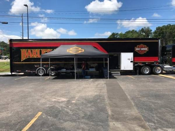 Harley Davidson of Dothan is having their open house today and Saturday