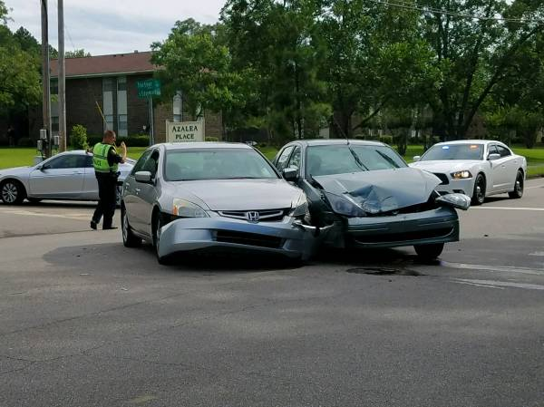 Motor Vehicle Accident Fortner And Edgewood