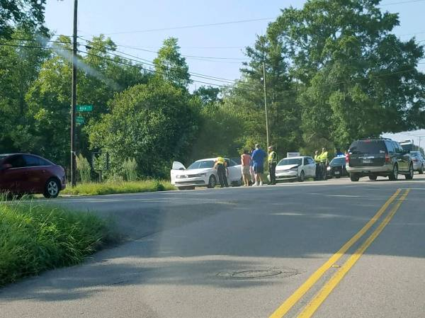 Motor Vehicle Accident at South Oates and Alice
