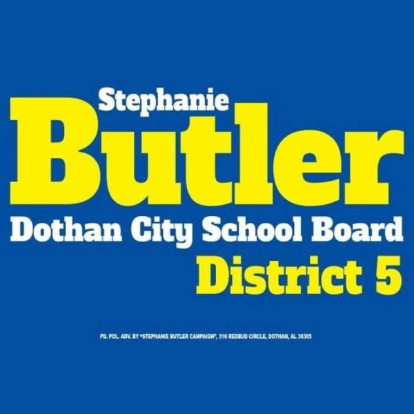 Stephanie Butler For District 5 School Board