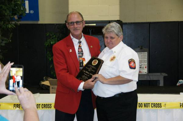 Congratulations to Wicksburg Fire Chief