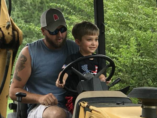 Brantley and Uncle Ben On The Tractor - Well I Stand Corrected