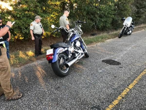 UPDATED at 7:16 PM with Pictures... Motor Vehicle Accident Involving a Motorcycle on Otis Buie