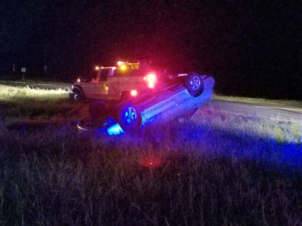 9:31 PM... Vehicle Overturned on U S 231 at DHodge Road