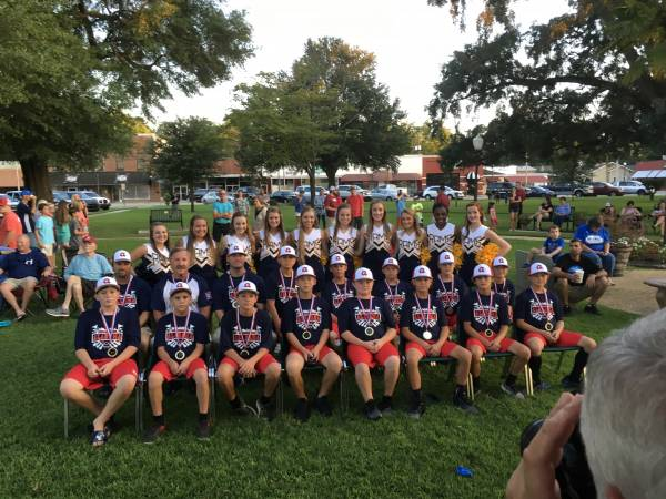 HEADLAND DIXIE YOUTH 11-12 Year Olds Headed to the World Series