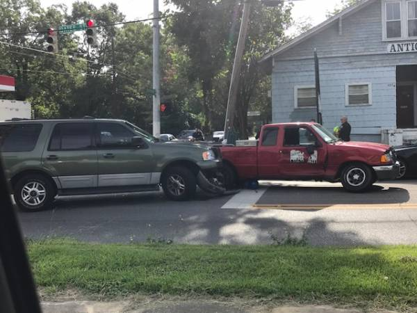 Motor Vehicle Accident at South Oates and Lafayette