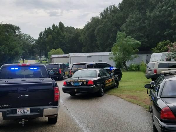 4:56 PM... Deputies Respond to a Burglary in Progress Call at Coggin Trailer Park