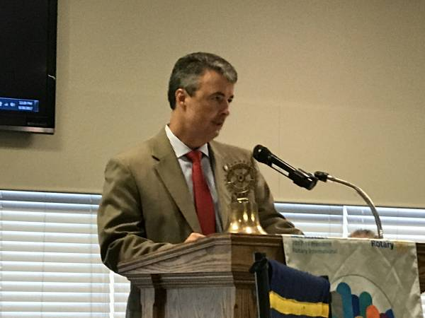 Alabama Attorney General Steve Marshall at Dothan Rotary Club