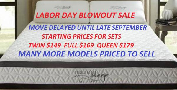 Labor Day Blowout Sale