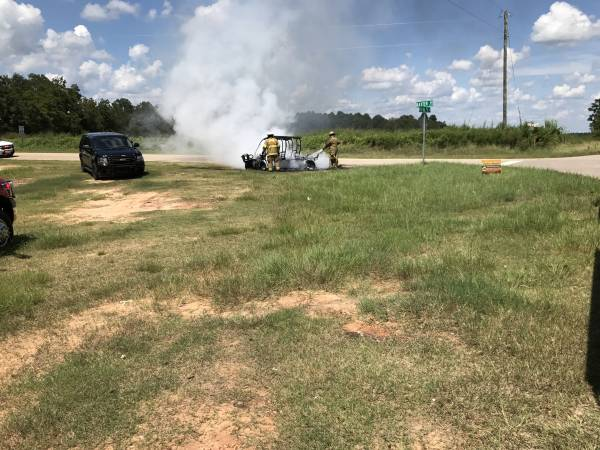 Vehicle Fire in Ashford