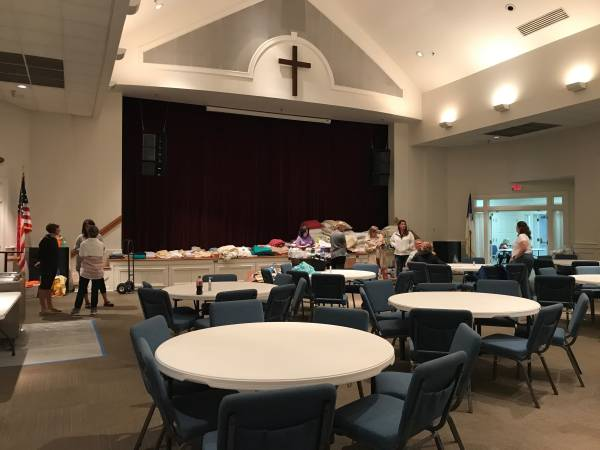 UPDATED @ 7:34 PM.  First United Methodist Church Dothan Shelter Opening at 7 PM