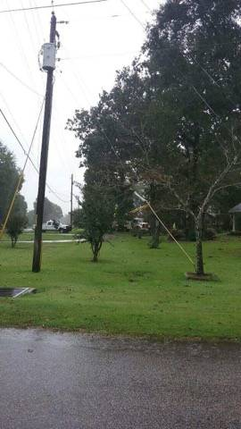 Wiregrass Electric Repairing Power Lines