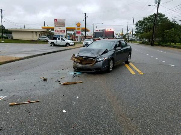 8:10 AM... Motor Vehicle Accident at West Main and Motes Street