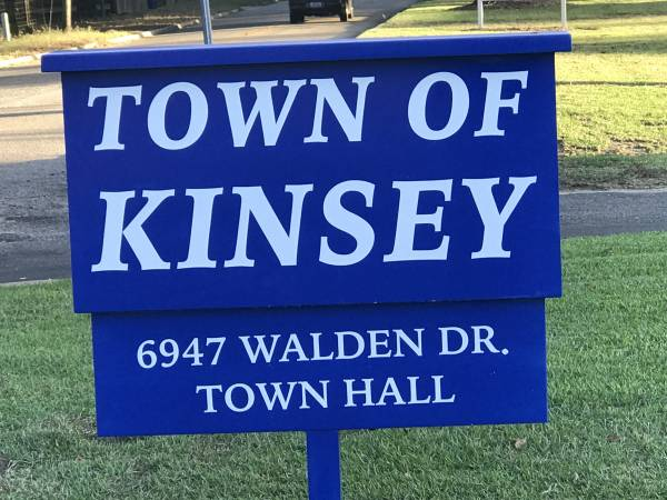6:50 PM.    Kinsey Mayor Pro Tem Resigns As Mayor Pro Tem But Remains On The Council