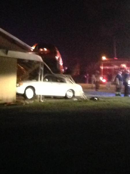 Motor Vehicle Accident in Opp Last Night with Photos