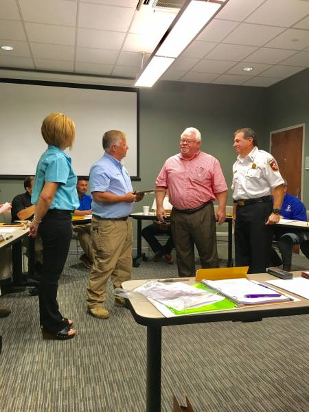 Jerry Corbin Recognized For Service To City of Dothan - Houston County Communications District Board