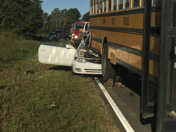 UPDATED at 10:27 AM: Vehicle verse School Bus North of Hartford