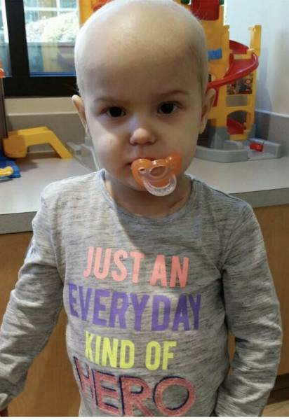 Avalyn Turns 3 Tomorrow   She was recently diagnosed with large cell lymphoma