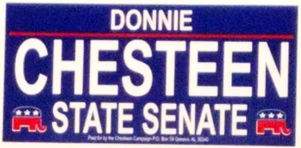 Representative Donnie Chesteen Announces His bid for State Senate