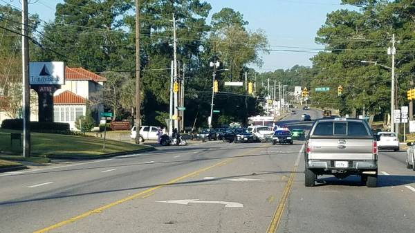 T-Bone Accident at West Main ans Woodland