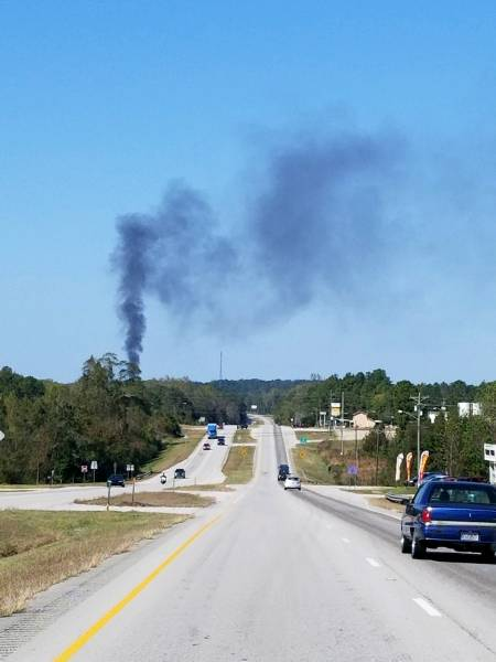 Structure Fire North of Ozark