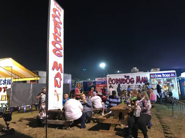 Look For CORNDOG Man At National Peanut Festival - ALSO Support Dothan Fireman's Relief Fund
