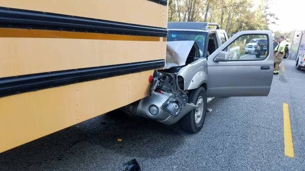 Motor Vehicle Accident invovling a School Bus