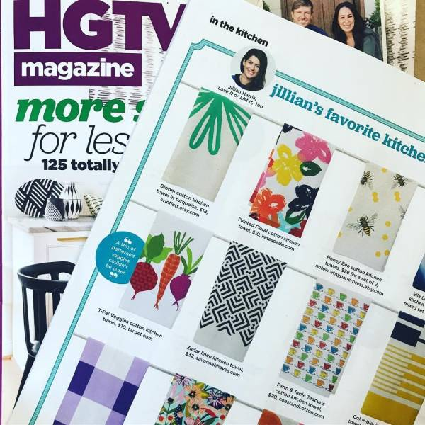 Coast and Cotton Towels are being Featured in HGTV Magazine