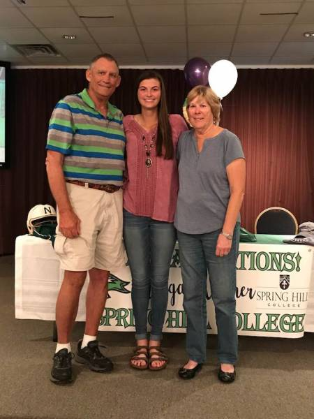 Wicksburg's Morgan Kramer Signs on the Dotted Line with NCAA D2 Spring Hill College for Softball