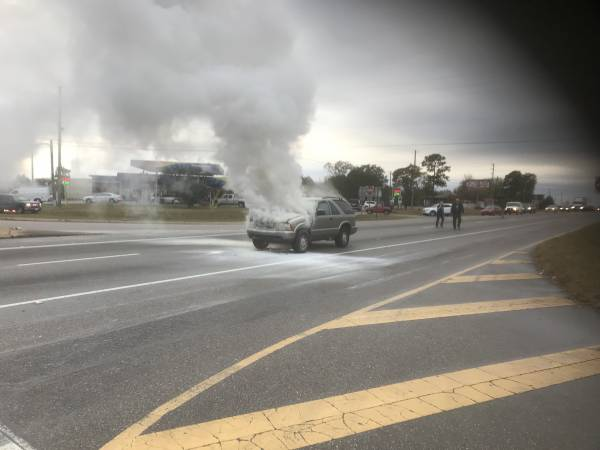 3:59 PM   Vehicle Fire On Highway 84 West