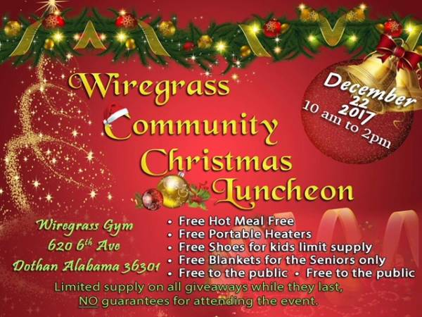Wiregrass Community Christmas Luncheon