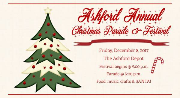 Ashford Annual Christmas Parade and Festival
