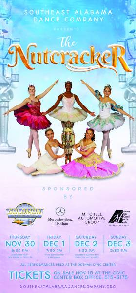 The Southeast Alabama Dance Company Presents the Nutcracker