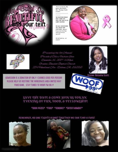 Cancer Awareness Fashion Show