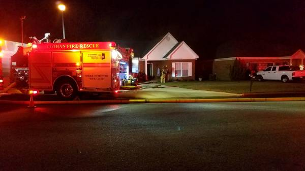 6:00 PM.. Stove Fire at 128 Gaffney Court
