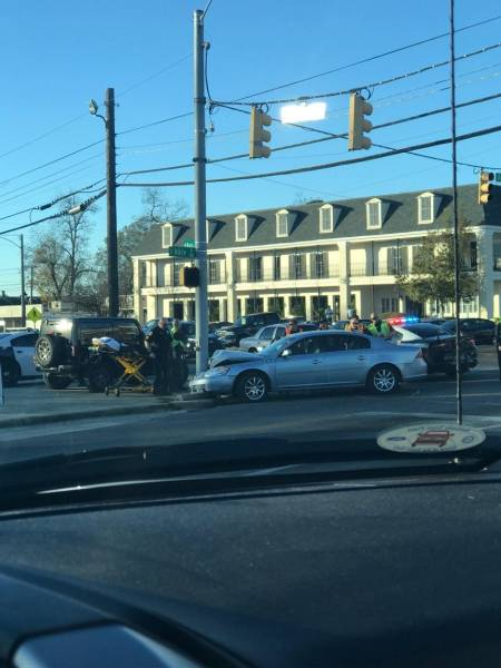 3:22 PM... Motor Vehicle Accident at Alice and West Main