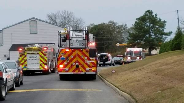 2:30 PM... Structure Fire Reported at Fox Run Apartments