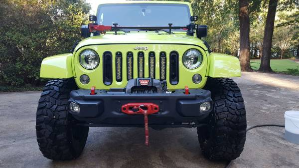 2016 lime green jeep rubicon hard rock for sale. Black Bedroom Furniture Sets. Home Design Ideas