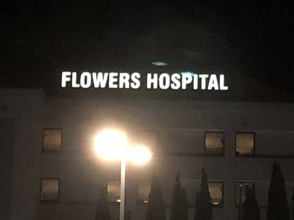 Our Trip And Stay At Flowers Hospital