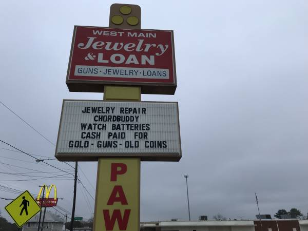 TODAY CHRISTMAS EVE / West Main Jewelry and Pawn