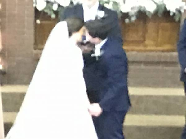 Congratulations To Mr. and Mrs. Tyler Marchman