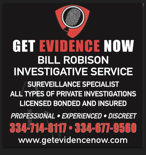 Happy New Year from Bill Robison Investigations!!