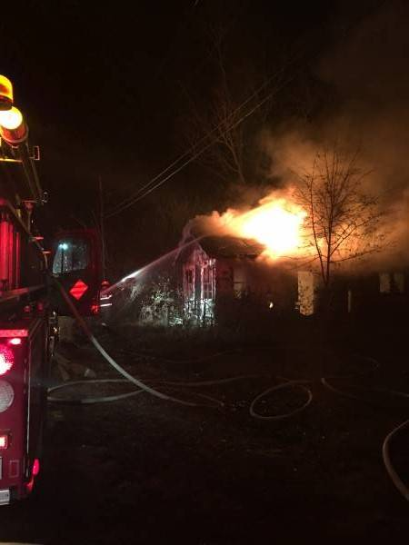 8:44 PM.  Structure Fire In Slocomb - Fully Engulfed