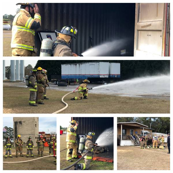 Dothan Fire Department HOST to Some 50 UPAID Professional Fireman