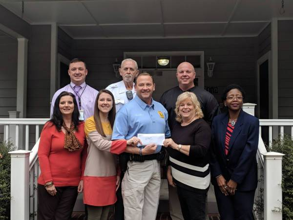CAC Recieves Donation From Headland Police Department