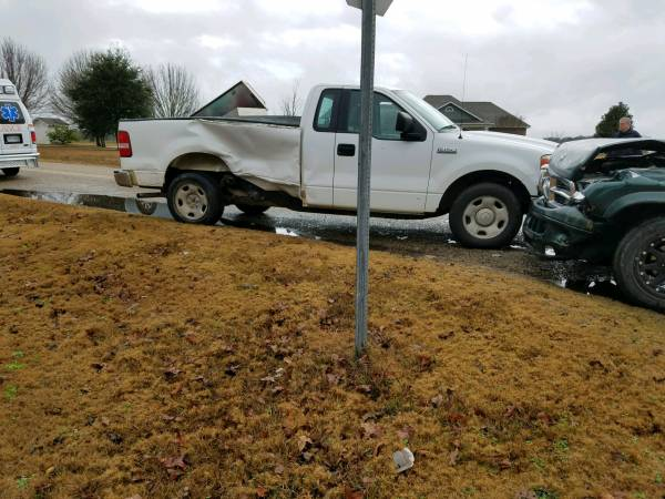 10:01 AM...T-Bone Accident at South Shady and Smith Road