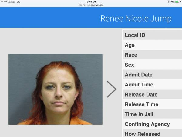 WANTED: RENEE NICOLE JUMP